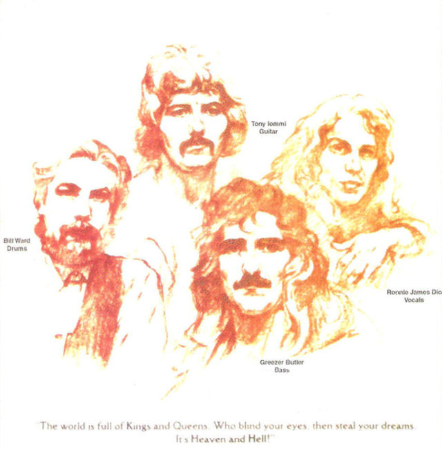 Poze Poze Black Sabbath - Heaven & Hell (1980) drawing