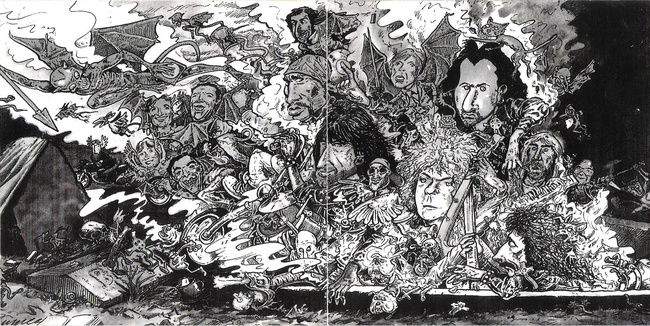 Poze Poze Black Sabbath - Forbiden (1995) artistic drawing