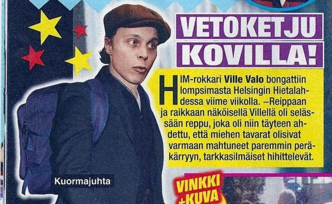 Poze Poze HIM - Rokkari Ville Valo
