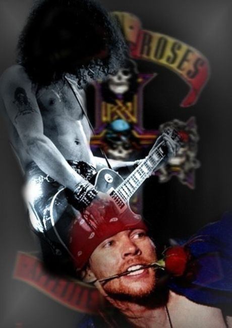 Poze Poze Guns N Roses - Slash & Axl