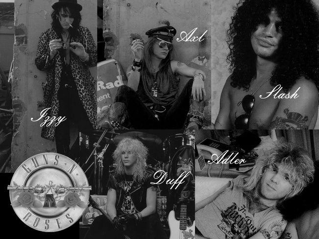 Poze Poze Guns N Roses - Membrii originali