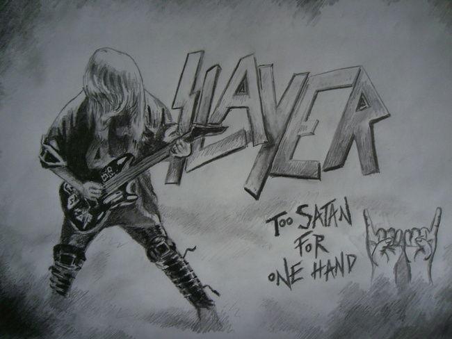 Poze Poze Slayer - Desen hartie