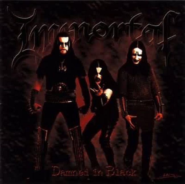 Poze Poze IMMORTAL - damned in black