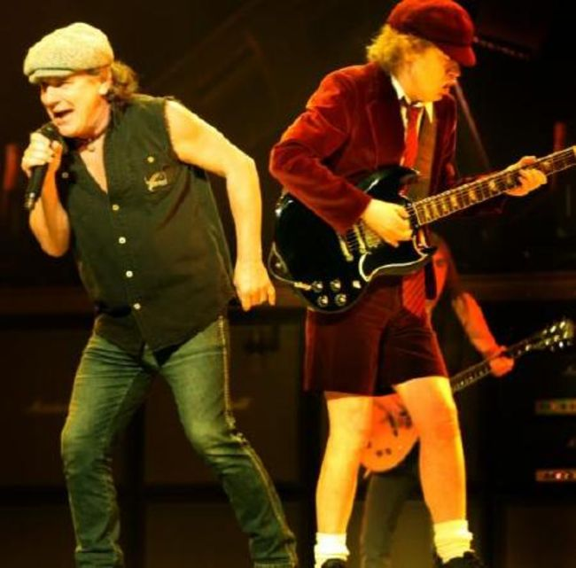 Poze Poze AC/DC - Brian si Angus in 2009