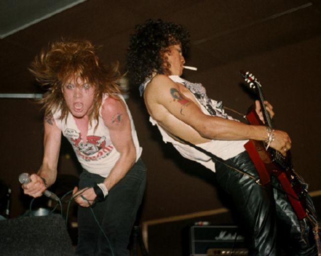 Poze Poze Guns N Roses - Axl si Slash
