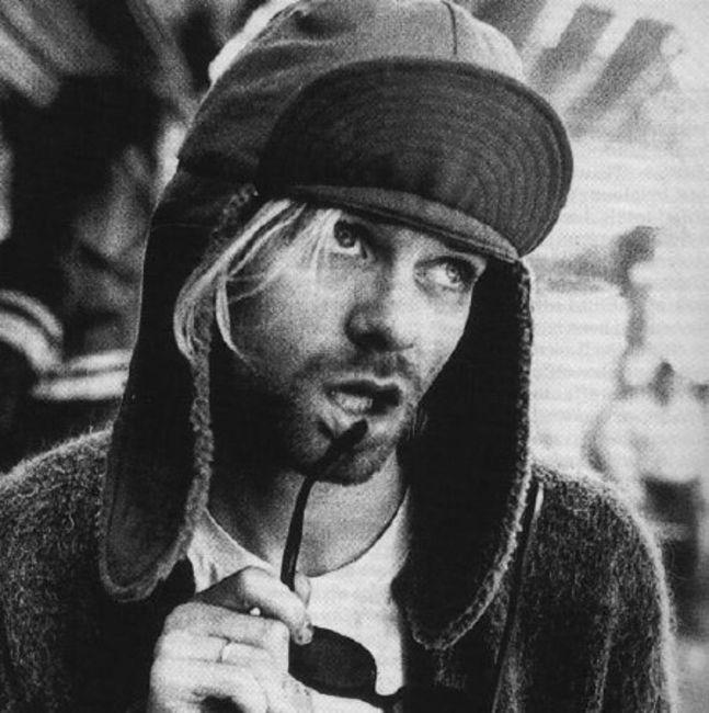 Poze Poze Kurt Cobain - Kurt acting doofus