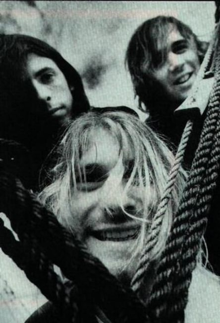 Poze Poze Kurt Cobain - Kurt, Dave, Krist
