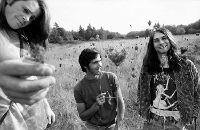 Poze Poze Kurt Cobain - nirvana hippie