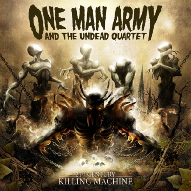 Poze Poze ONE MAN ARMY AND THE UNDEAD QUARTET - ONE MAN ARMY AND THE UNDEAD QUARTET