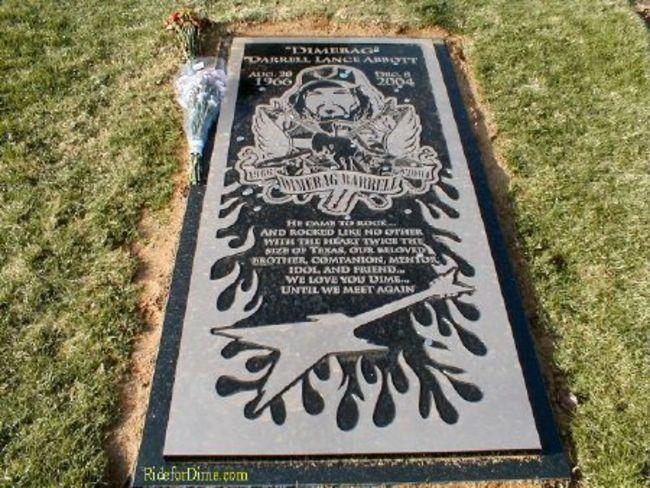 Poze Poze Pantera - Dimebag's grave