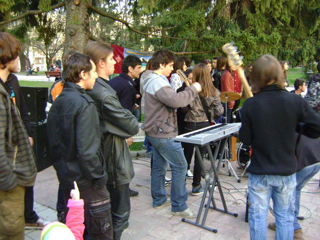 Poze Sounds In The Attic (S.I.T.A.) poze - Earth Hour, Braila 2012