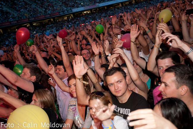 Poze Poze cu publicul la concertul Roxette - Poze cu publicul la concertul Roxette