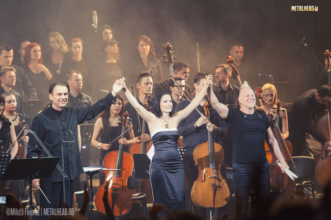 Poze Tarja Turunen: Concert la Bucuresti in 2013 (User Foto) - Beauty and The Beat