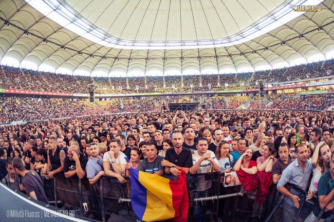 Poze Poze public Concert Depeche Mode la Bucuresti pe Arena Nationala - Public Depeche Mode
