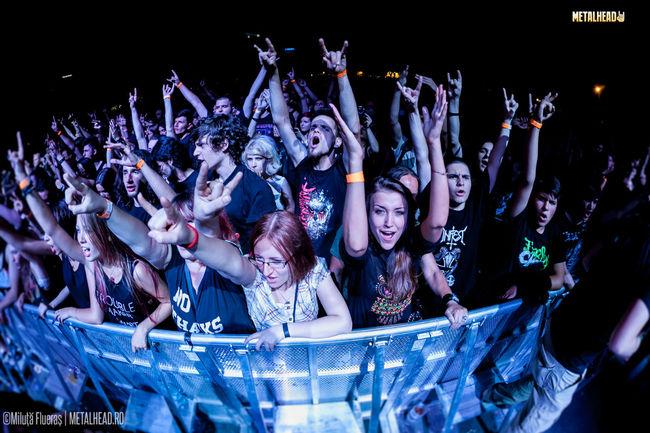 Poze Poze cu publicul de la Rock The City 2013 - Ziua 1