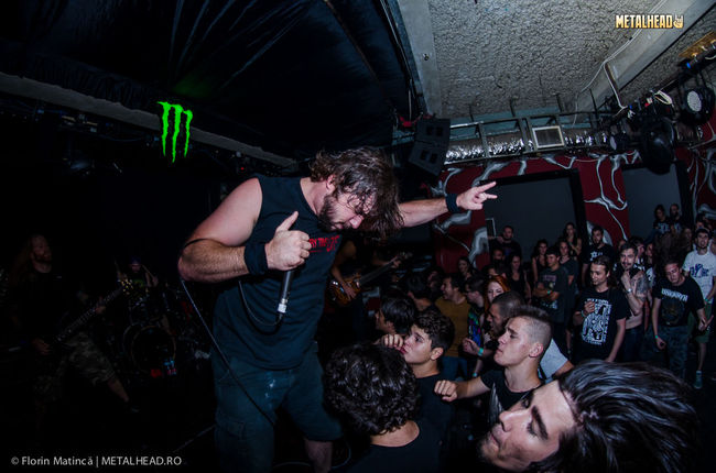 Poze Poze UNEARTH - Poze Concert Unearth, Diamonds Are Forever, Rock N Ghena si altii, in Club Fabrica