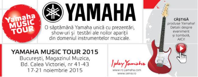 Yamaha Music Tour 2015 la Magazinul Muzica