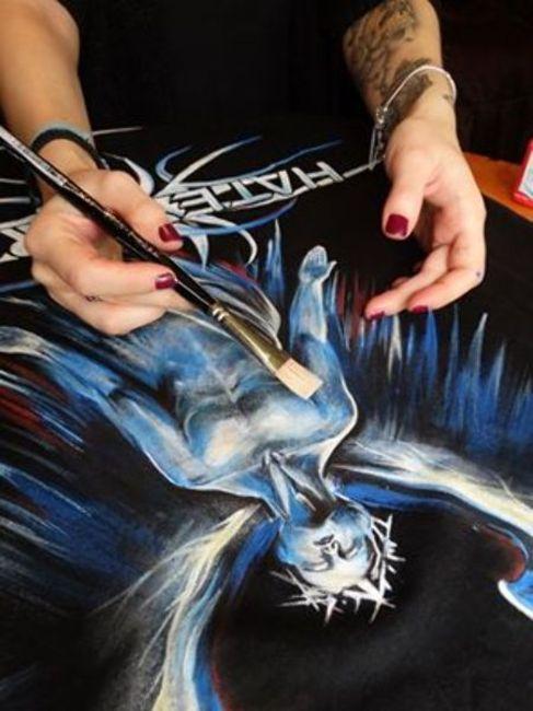 Poze HateviruS poze - custon HateviruS T-shirt