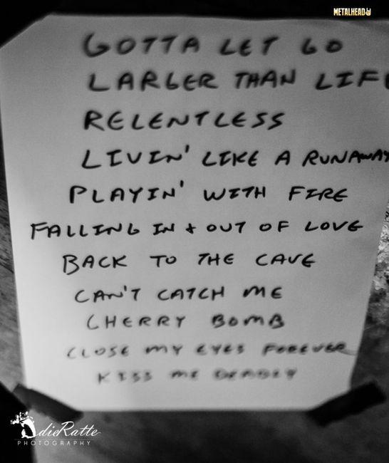Poze Poze Lita Ford @ Hard Rock Cafe - Poze Lita Ford