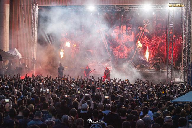 Poze Poze Slayer - Poze de la concertul Slayer