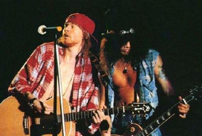 Poze Poze Guns N Roses - Axl.Slash