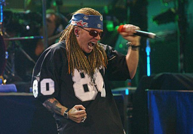 Poze Poze Guns N Roses - Axl mtv 2002