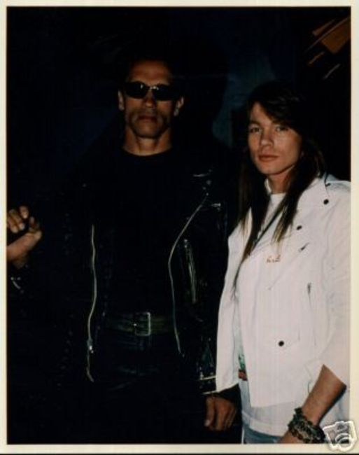 Poze Poze Guns N Roses - Terminator&Axl