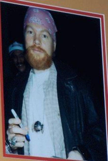 Poze Poze Guns N Roses - Axl Rose 1996