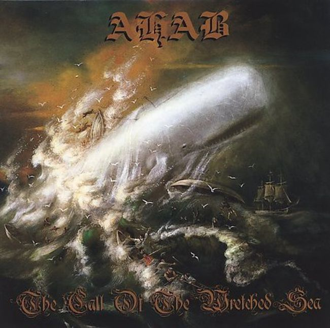 "Poze Poze AHAB - Coperta ""The Call of the Wretched Sea"""