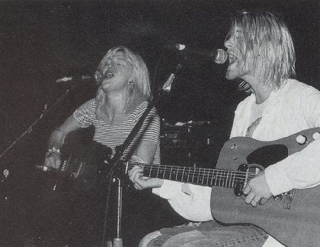 Poze Poze Nirvana - kurt&courtney duet