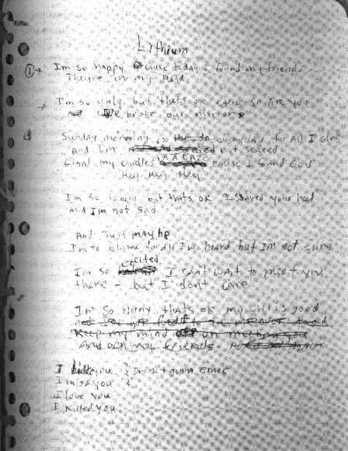 Poze Poze Nirvana - kurt's lithium early lyrics