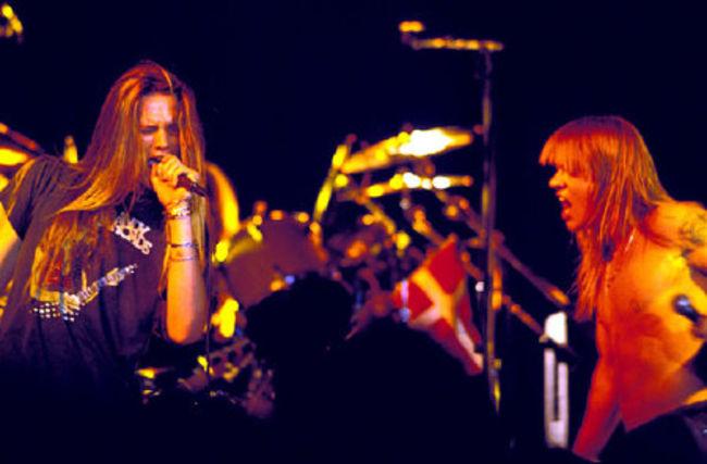Poze Poze Guns N Roses - Axl & Sebastian Bach