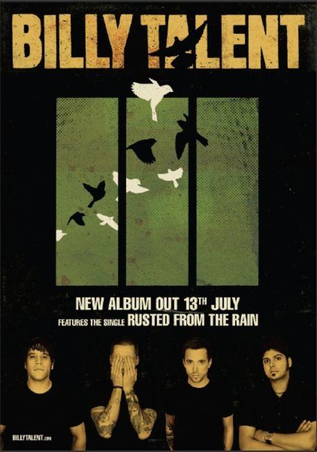 Poze Poze Billy Talent - 13 July 2009