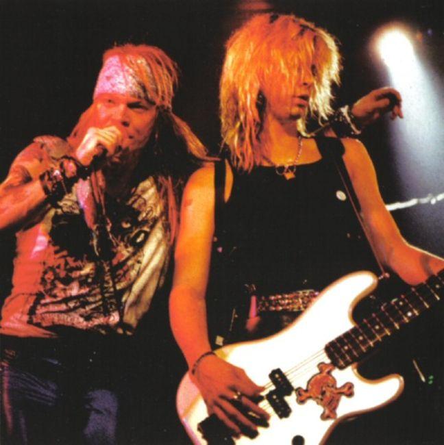 Poze Poze Guns N Roses - Axl & Duff
