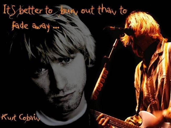 Poze Poze Nirvana - better to burn ...