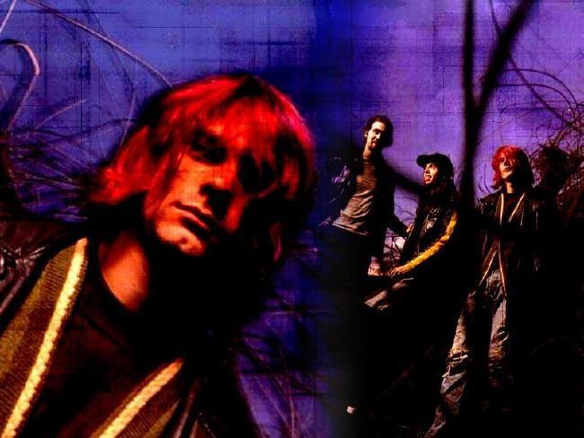 Poze Poze Nirvana - red