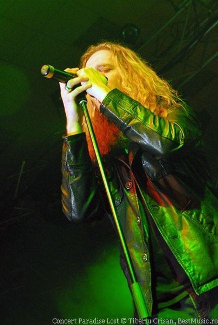 Poze Poze Paradise Lost - Paradise Lost in concert la Bucuresti, Romexpo, ian 2008