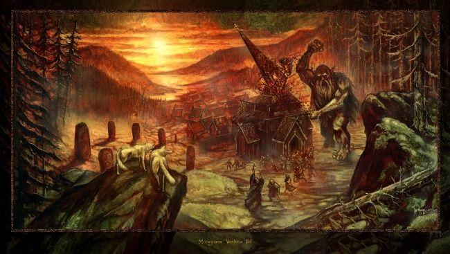 Poze Poze Manegarm - coperta cd Vredens Tid