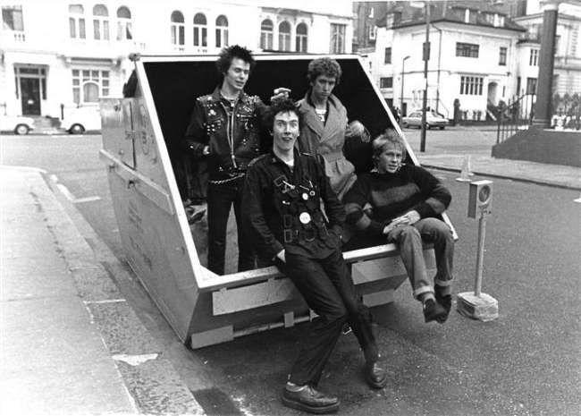 Poze Poze Sex Pistols - london