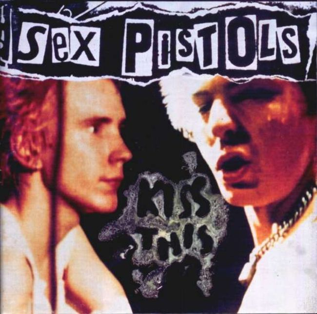 Poze Poze Sex Pistols - kiss this front