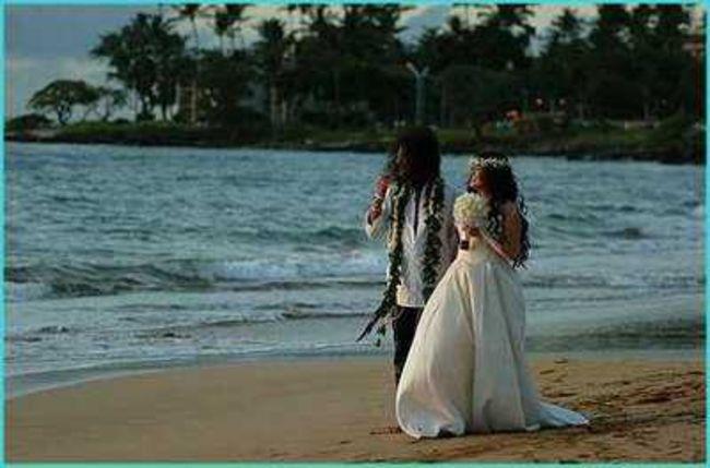 Poze Poze Guns N Roses - Slash and Perla wedding