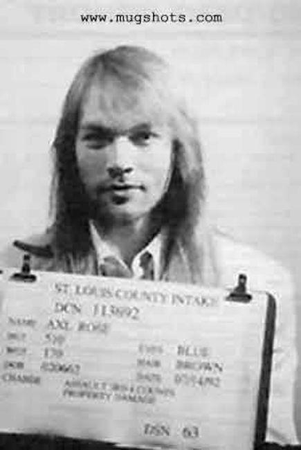 Poze Poze Guns N Roses - mugshot