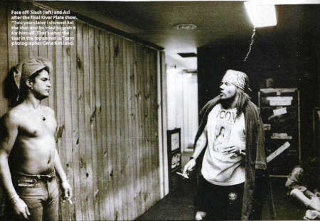 Poze Poze Guns N Roses - Axl and Slash
