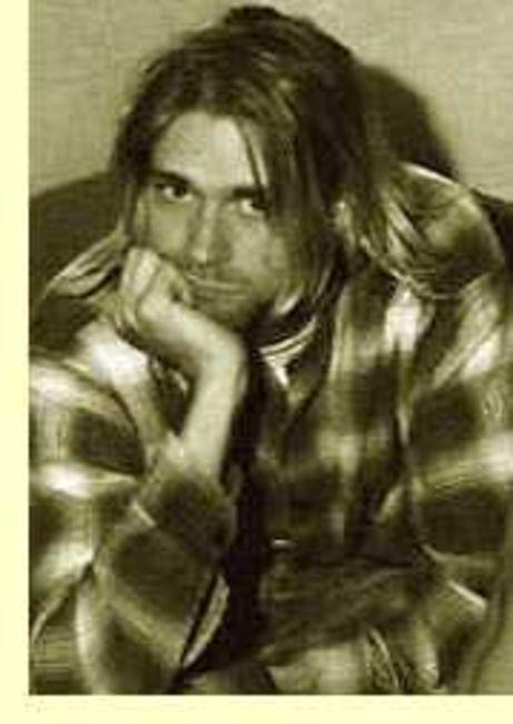 Poze Poze Nirvana - kurt thinkin