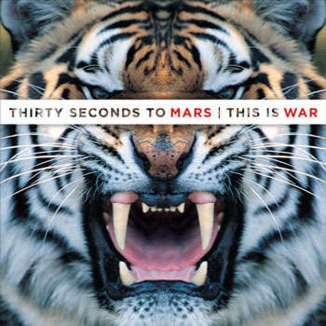 Poze Poze 30 Seconds to Mars - Coperta albumului This Is War valabila in tarile care nu au putut participa la Faces of Mars
