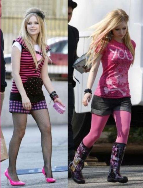 Poze Poze Avril Lavigne - Avril Lavigne 2009