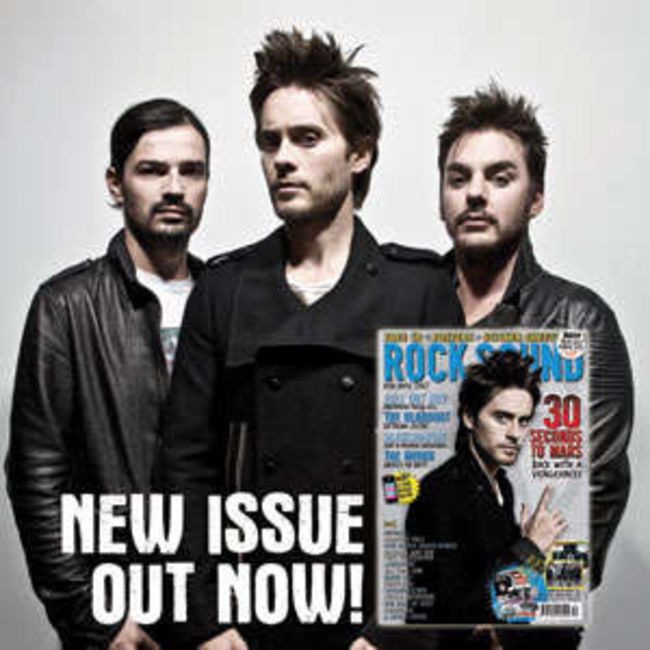 Poze Poze 30 Seconds to Mars - RockSound Issue Nov'09