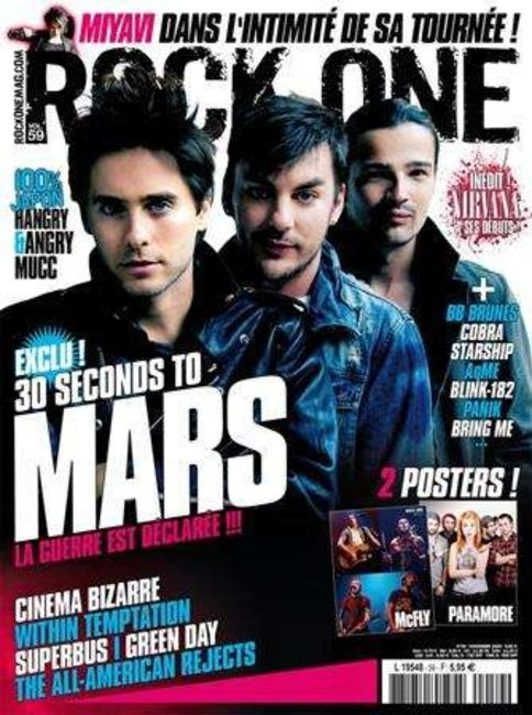 Poze Poze 30 Seconds to Mars - Rock One Mag