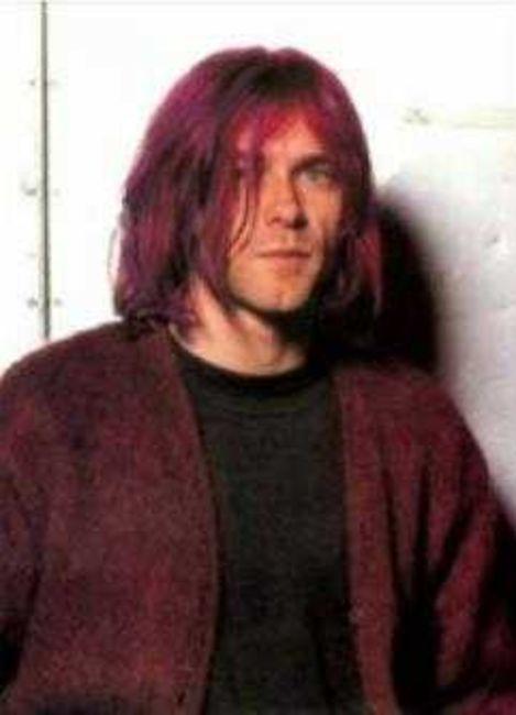 Poze Poze Nirvana - kurt redhead(actually purple)