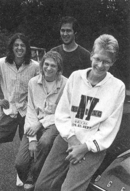 Poze Poze Nirvana - nirvana & some dude